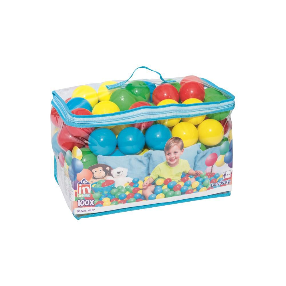 Pelotas De Juego Bestway Up, In & Over 52027 image number 0.0