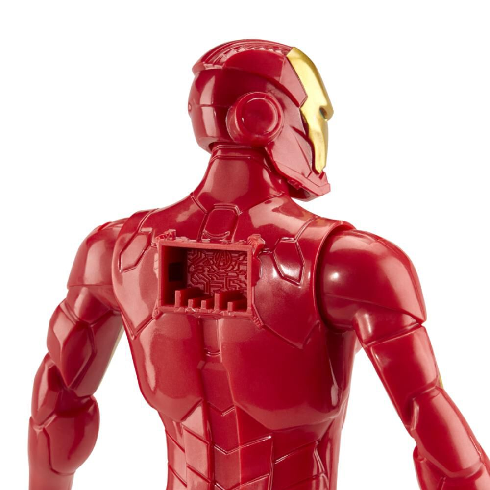 Figura De Accion Avenger Titan Hero Movie Iron Man image number 4.0