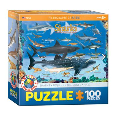 Puzzle Eurographics 6100-0079 Sharks