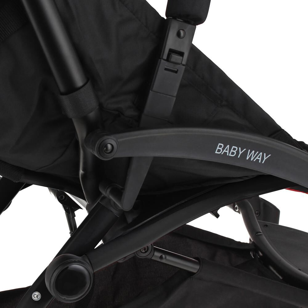 Coche De Paseo Baby Way Bw-207f17 image number 4.0
