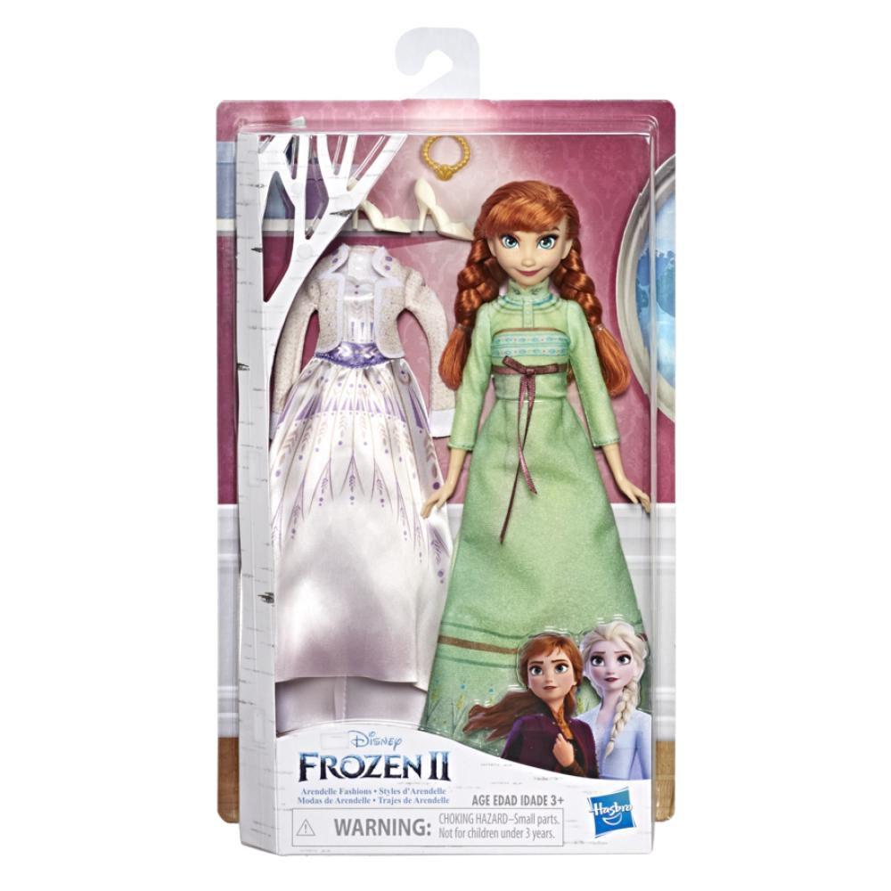 Muñeca Frozen Vestidos Reales Anna image number 0.0