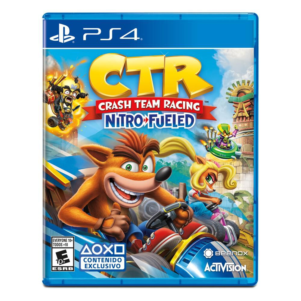 Juego Ps4 Crash Team Racing image number 0.0
