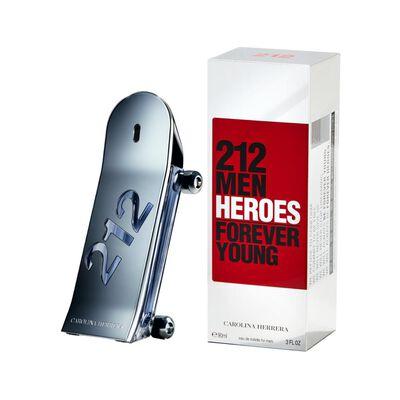 Perfume 212 Heroes Carolina Herrera / 90 Ml / Eau De Toillete