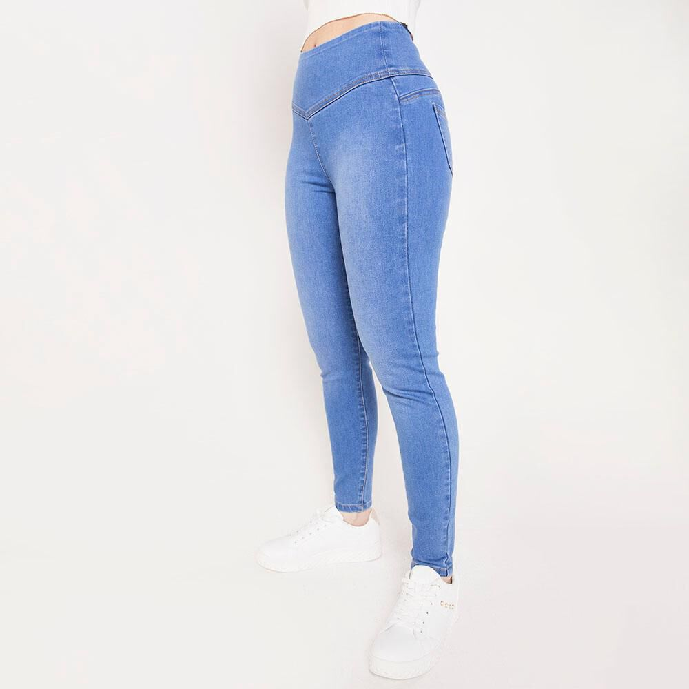 Jeans Mujer Tiro Alto Push up Freedom image number 2.0