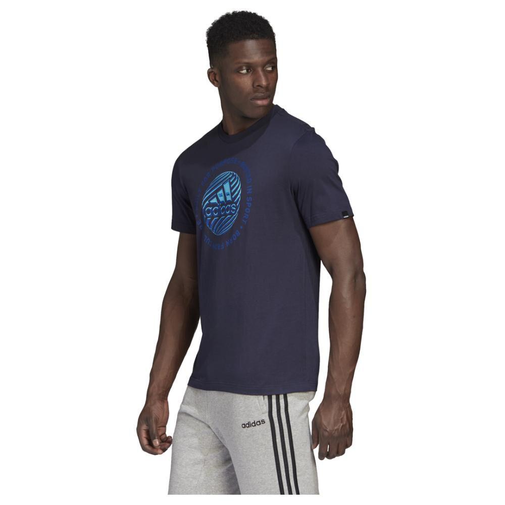 Polera Hombre Adidas M Hyperreal Circled image number 3.0