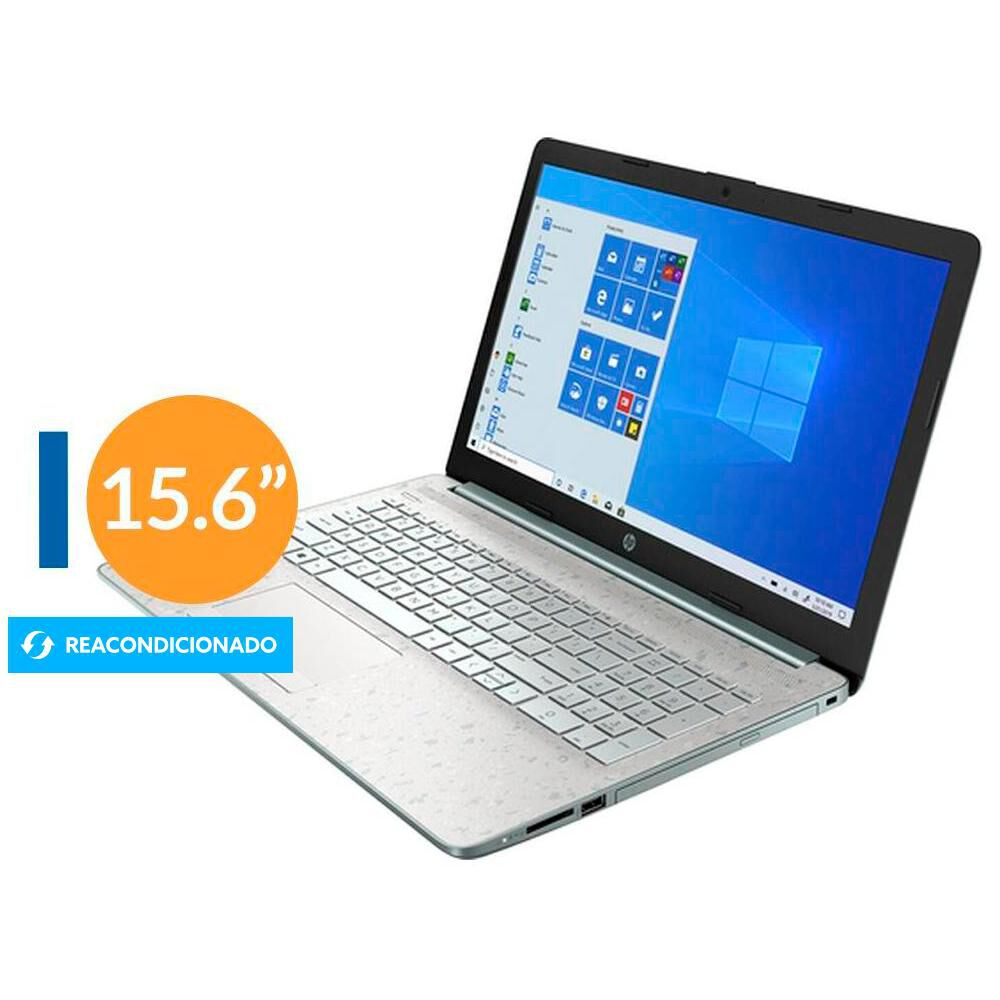 "Notebook Reacondicionado Hp 15-da0022ds / Intel Pentium Gold / 8 Gb Ram / Uhd Graphics 610 / 256 Gb Ssd / 15.6"" / Teclado En Inglés image number 0.0"