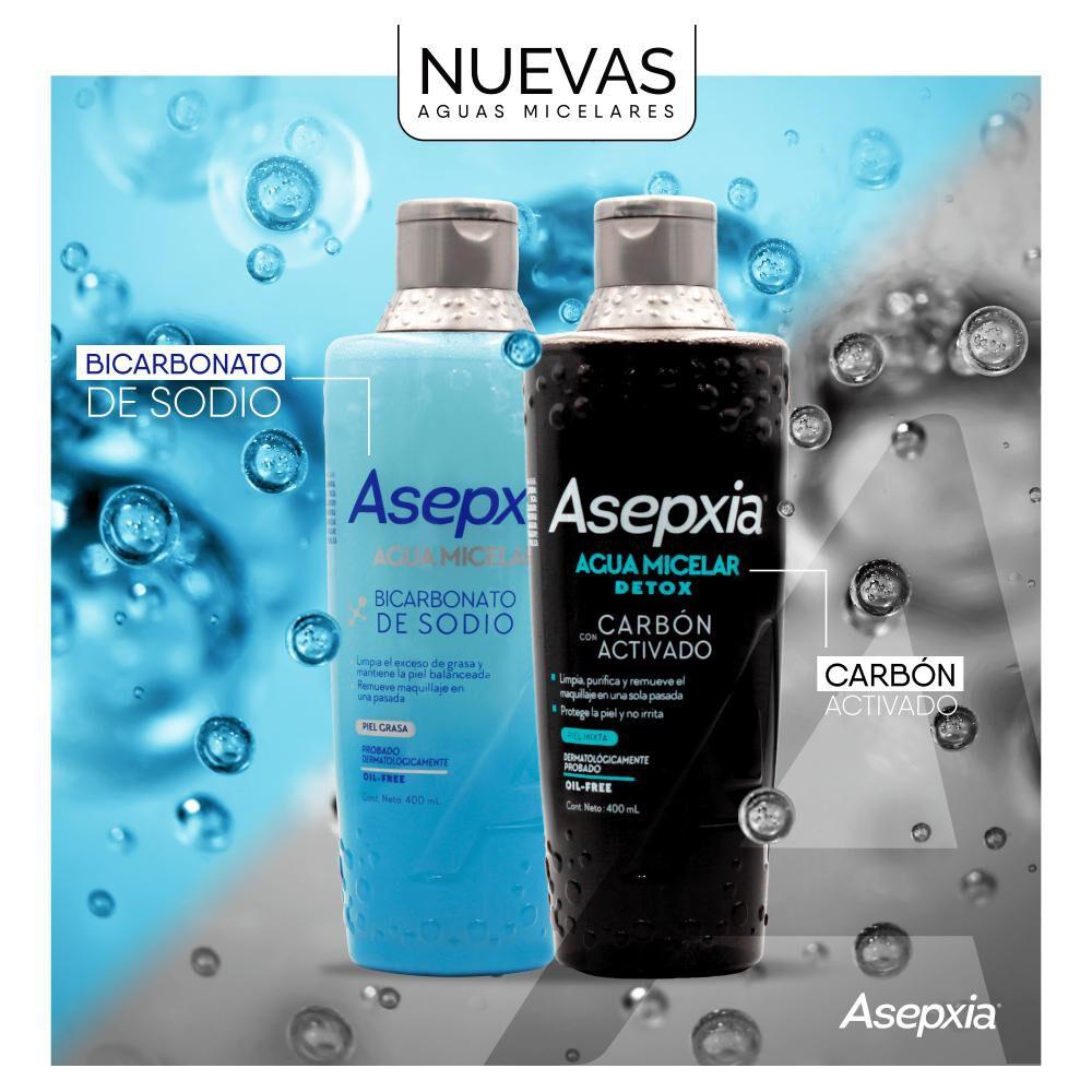 Agua Micelar Asepxia / 400 Ml image number 5.0