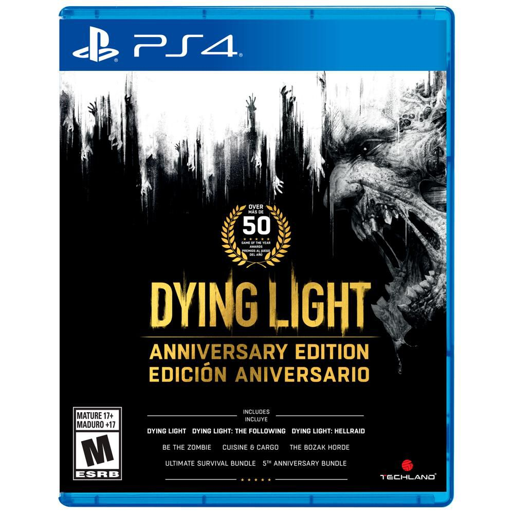 Videojuego Sony Dying Light Anniversary Edition image number 0.0