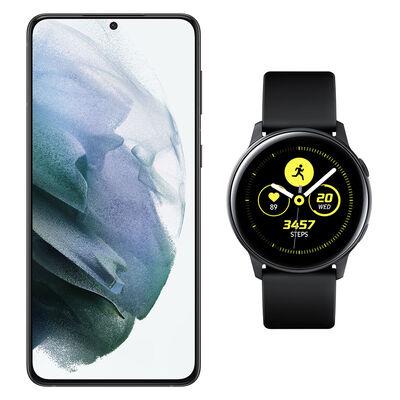 Smartphone Samsung S21 Plus + Galaxy Active Black
