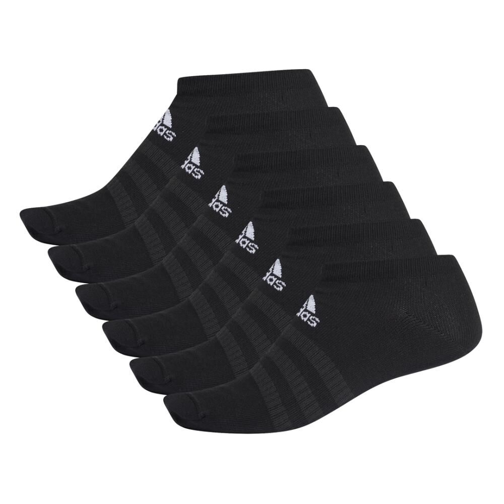 Calcetines Corte Bajo Unisex Adidas / Pack 6 Pares image number 1.0