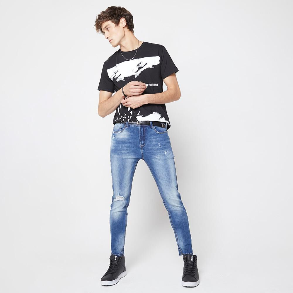 Jeans Hombre Rolly Go image number 4.0