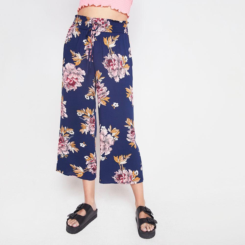 Pantalon Tiro Alto Culotte Mujer Freedom image number 0.0