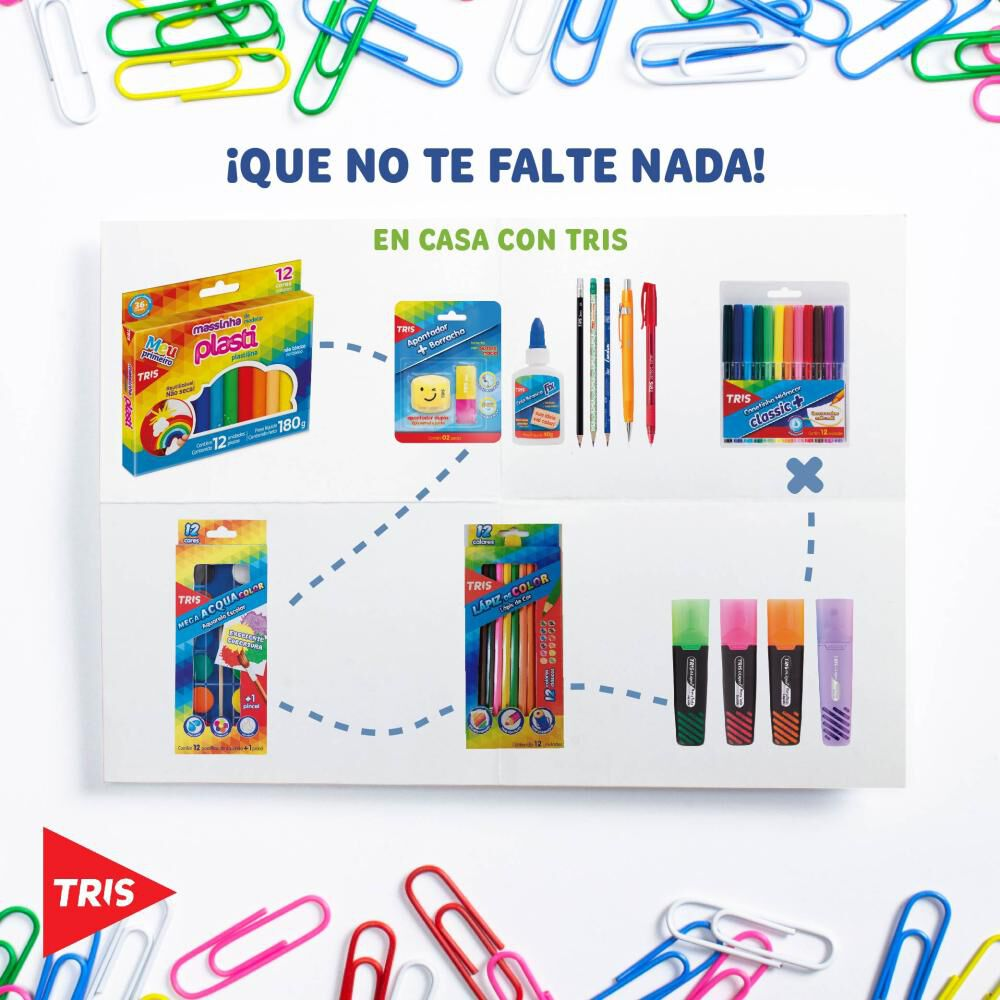 Set De Manualidades Tris Pack 2 614069 / + 3 Años image number 0.0