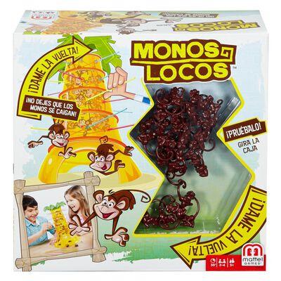 Juego De Mesa Mattel Games Monos Locos