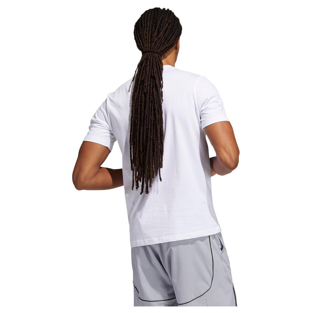 Polera Hombre Adidas Estampado De Frutas Lil Stripe image number 3.0