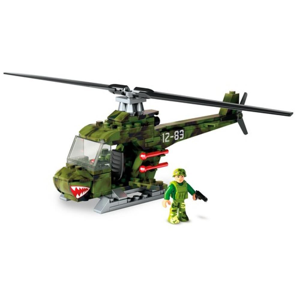 Helicoptero Megabloks Helicoptero Militar Armable image number 3.0