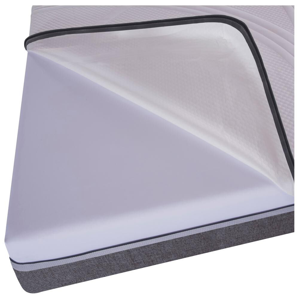 Box Spring Cic Ortopedic / 1.5 Plazas / Base Normal  + Set De Maderas image number 2.0
