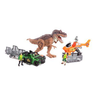 Set De Juguetes Marca De Proveedor Dinosaurio Set Completo