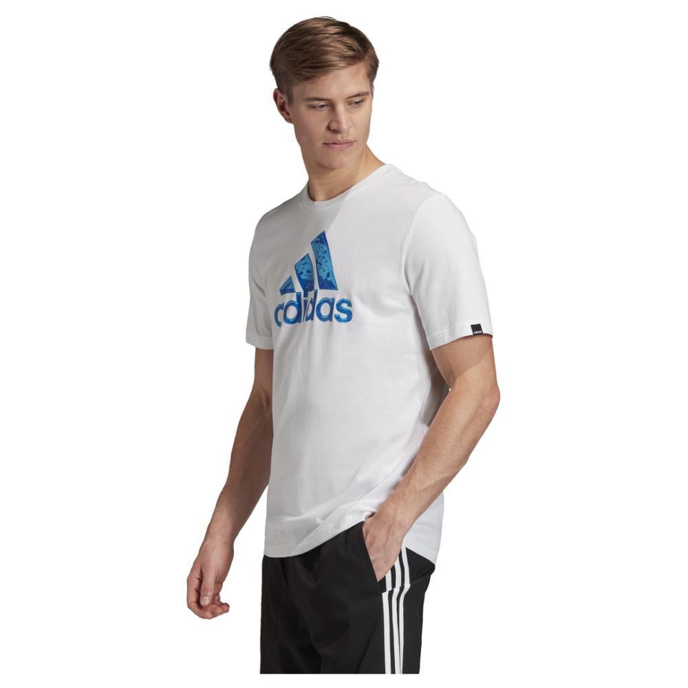 Polera Hombre Adidas Logo Hyperreal image number 1.0