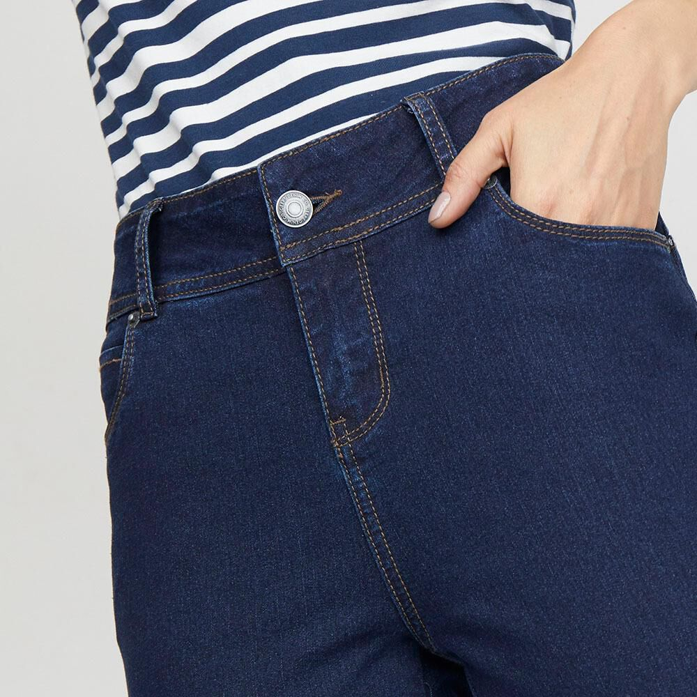 Jeans Mujer Tiro Alto Push up Geeps image number 3.0