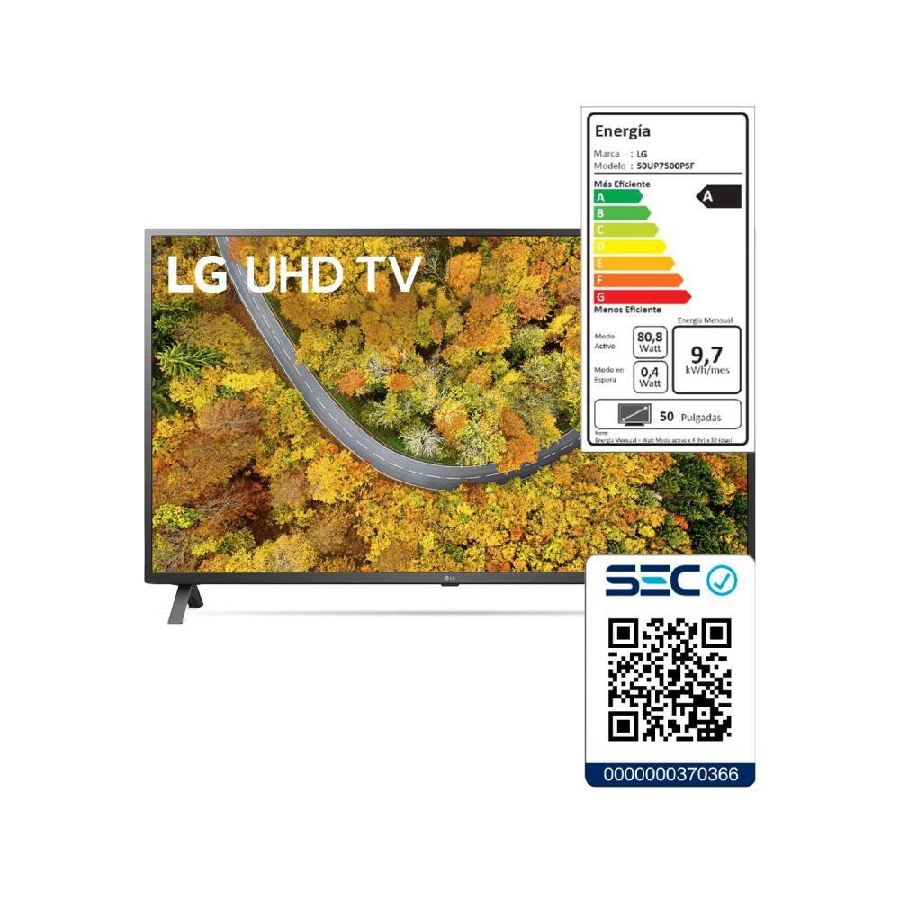 """Led LG UP7500PSF / 50 """" / Ultra Hd 4k / Smart Tv image number 7.0"""