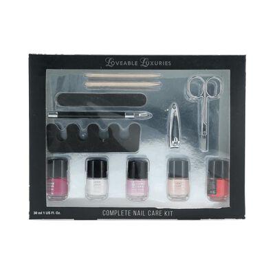 Set De Uñas Loveable Luxuries Complete Nail Care Kit