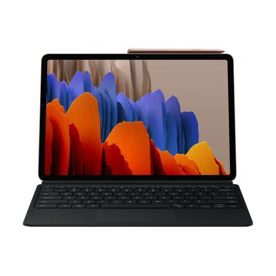 "Tablet Galaxy S7 + Keyboard Cover / 6 GB RAM / 128 GB / WIFI / Mystic Bronze / 11"""