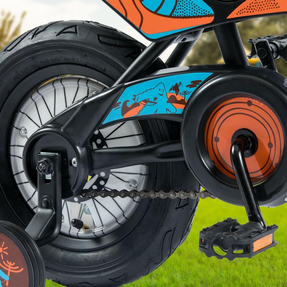 Bicicleta Infantil Oxford Motobike Aro 12 image number 3.0