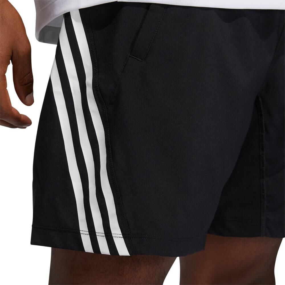 Short Hombre Adidas Aeroready Woven 3s 8-inch image number 4.0