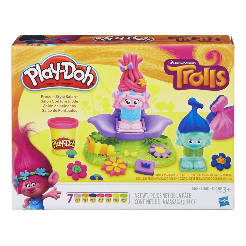 B9027 Play-Doh Trolls Salón De image number 0.0