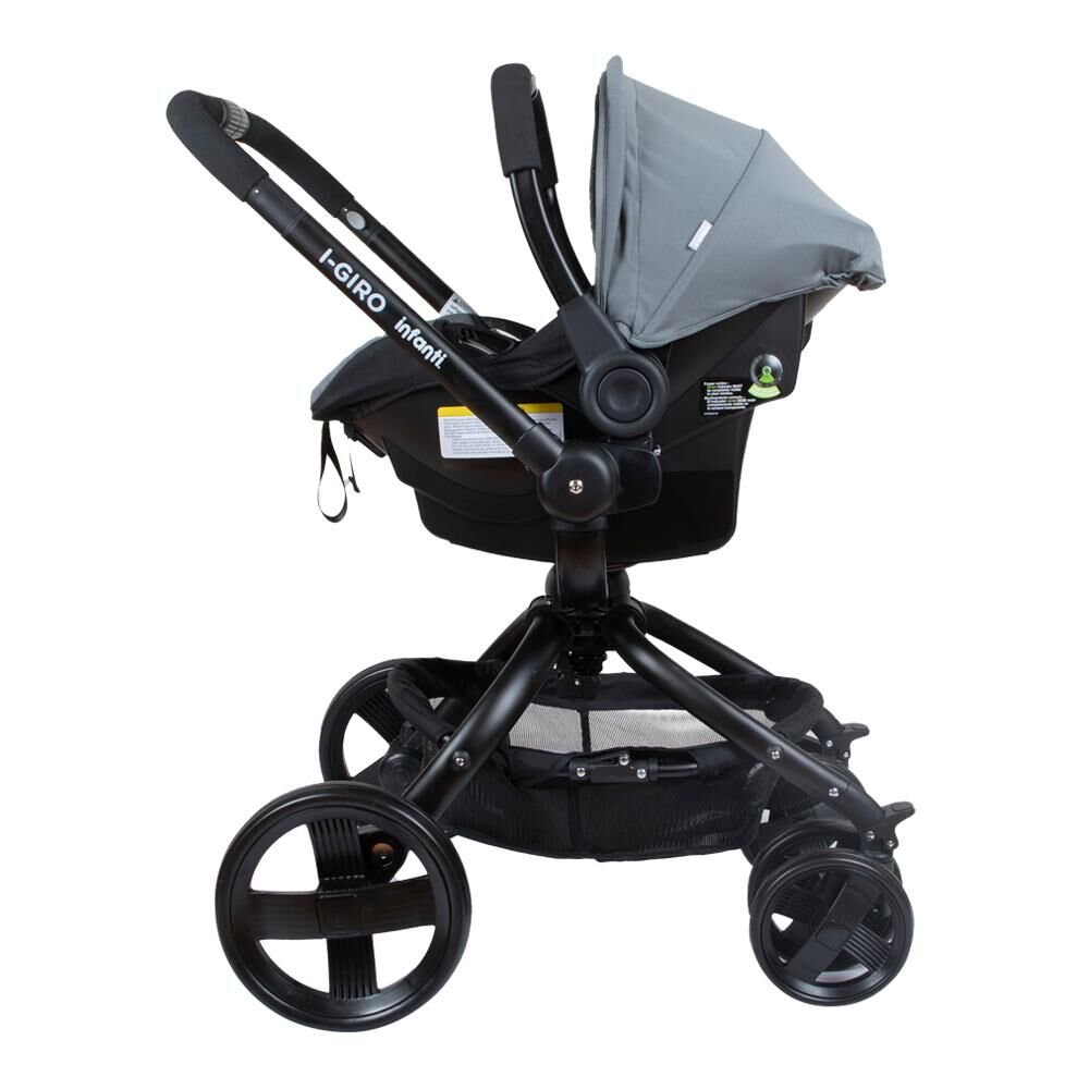 Coche Travel System Infanti I-giro Bright Grey image number 2.0