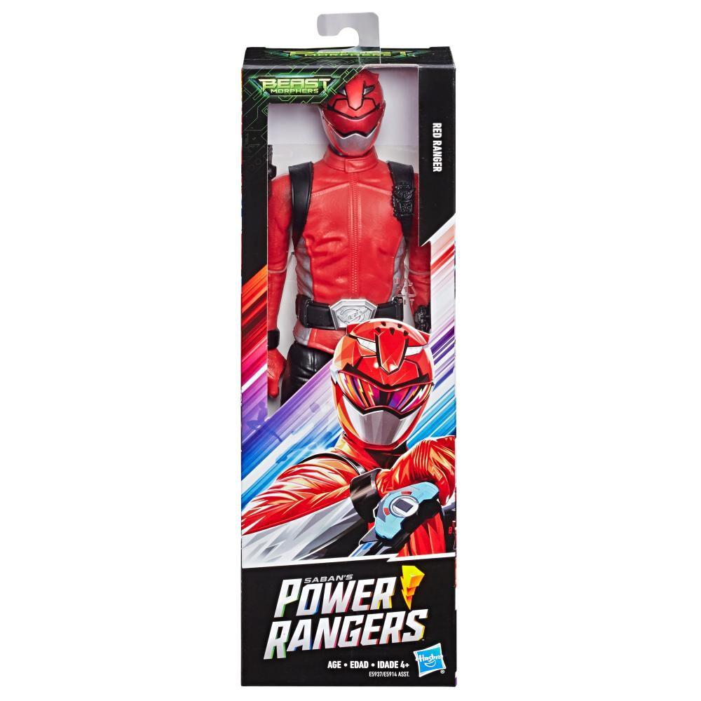 Figura De Acción Power Rangers Bmr Red Ranger image number 0.0