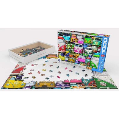 Puzzle Eurographics 6000-5423 Vw Bus - Funky Jam