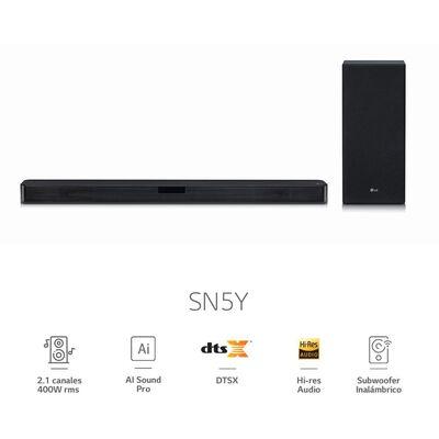 Soundbar LG Barra De Sonido SN5Y