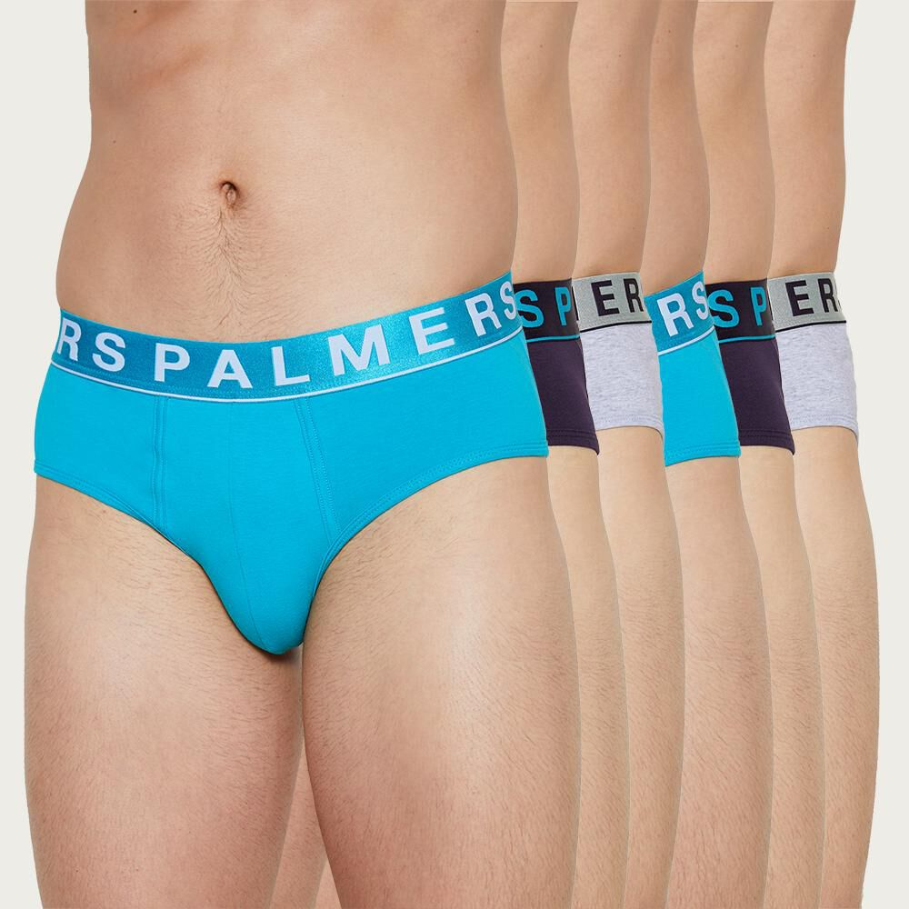 Pack Slips Hombre Palmers / 6 Piezas image number 0.0