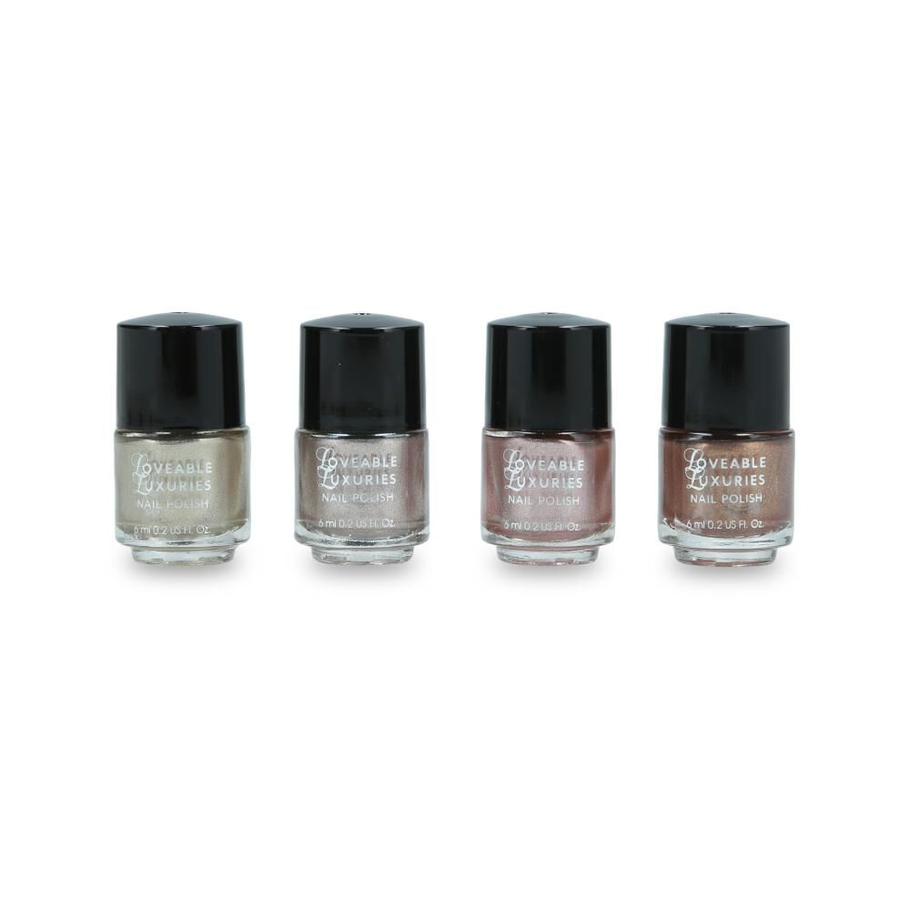 Set De Uñas Loveable Luxuries Metallics image number 1.0