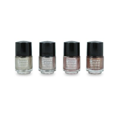 Set De Uñas Loveable Luxuries Metallics