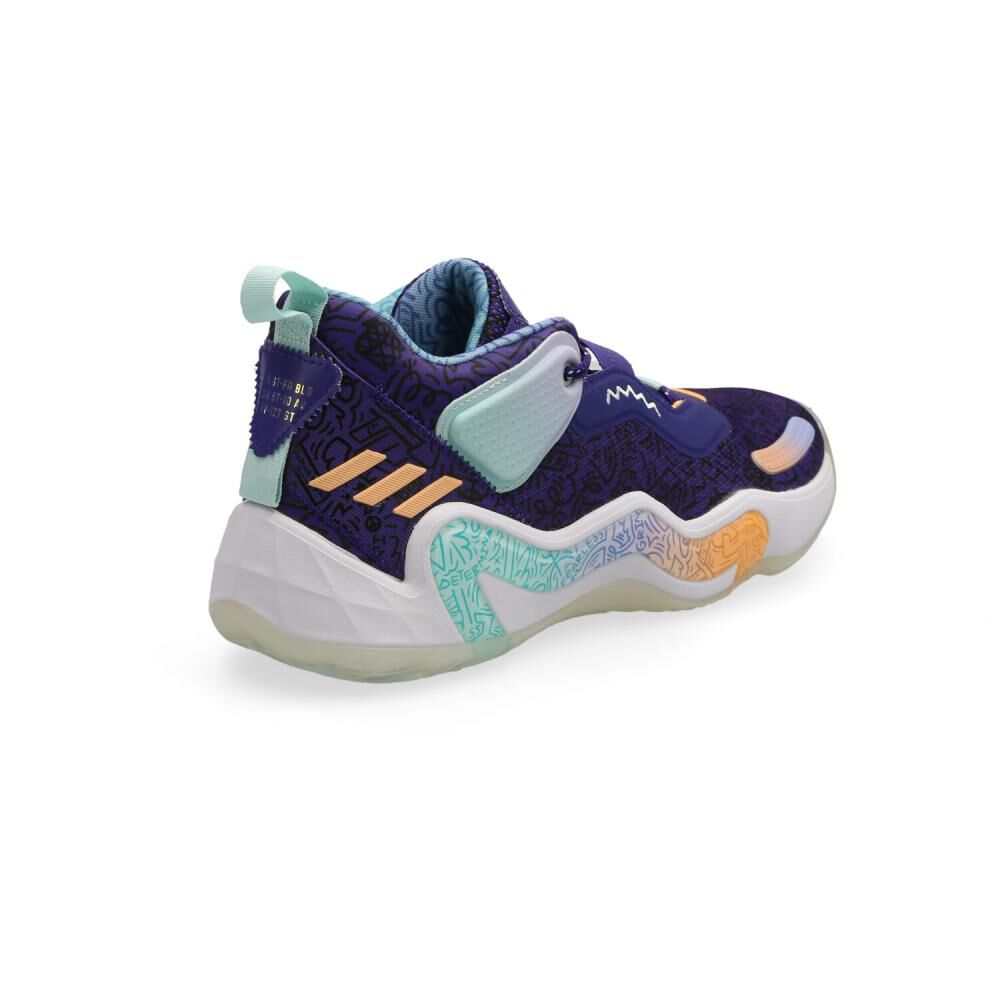 Zapatilla Basketball Unisex Adidas D.o.n. Issue 3 image number 2.0