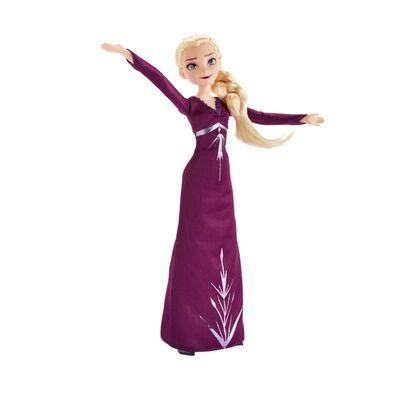 Muñeca Frozen Frozen 2 Vestidos Reales Elsa