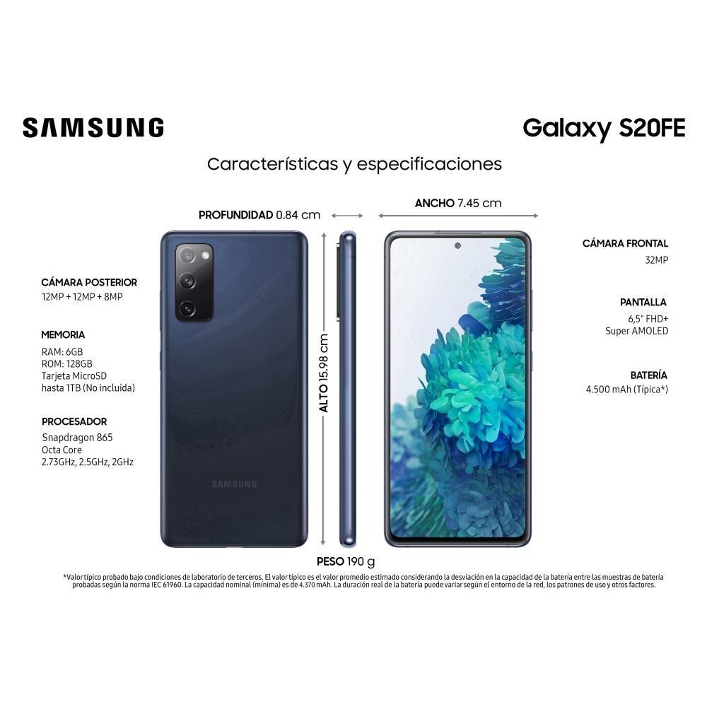 Smartphone Samsung S20fe / 128 Gb / Liberado image number 1.0