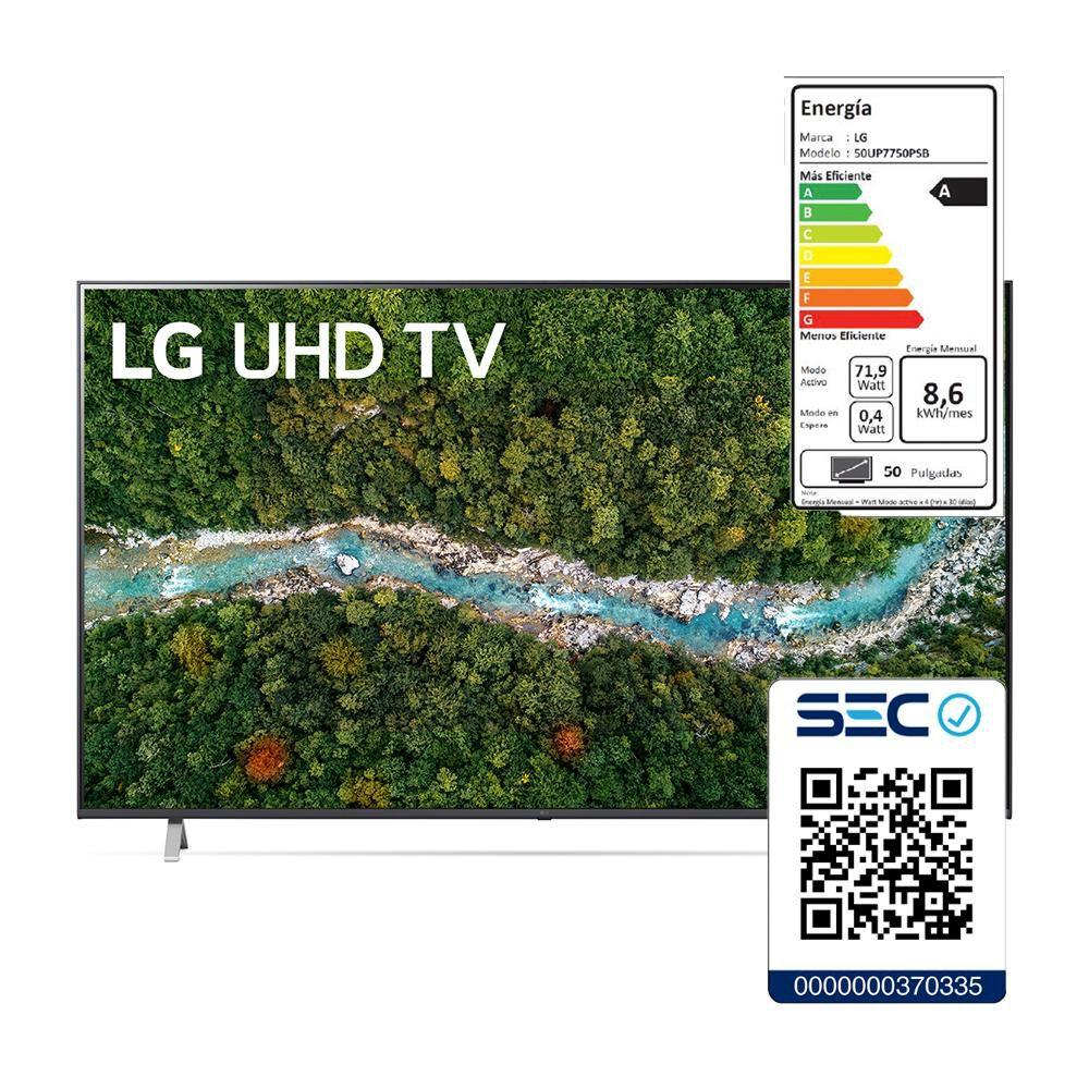 "Led LG 50UP7750PSB / 50 "" / Ultra Hd 4k / Smart Tv image number 7.0"