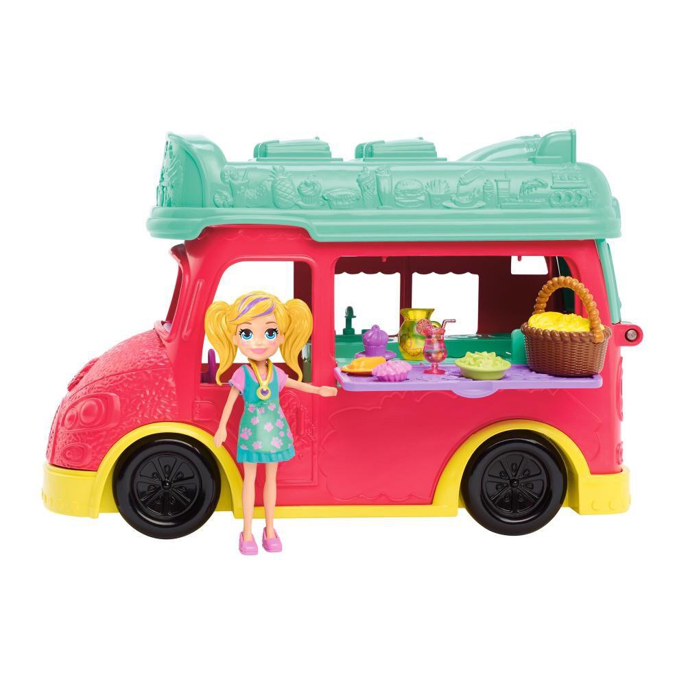 Muñeca Polly Pocket Camión Licuados image number 1.0