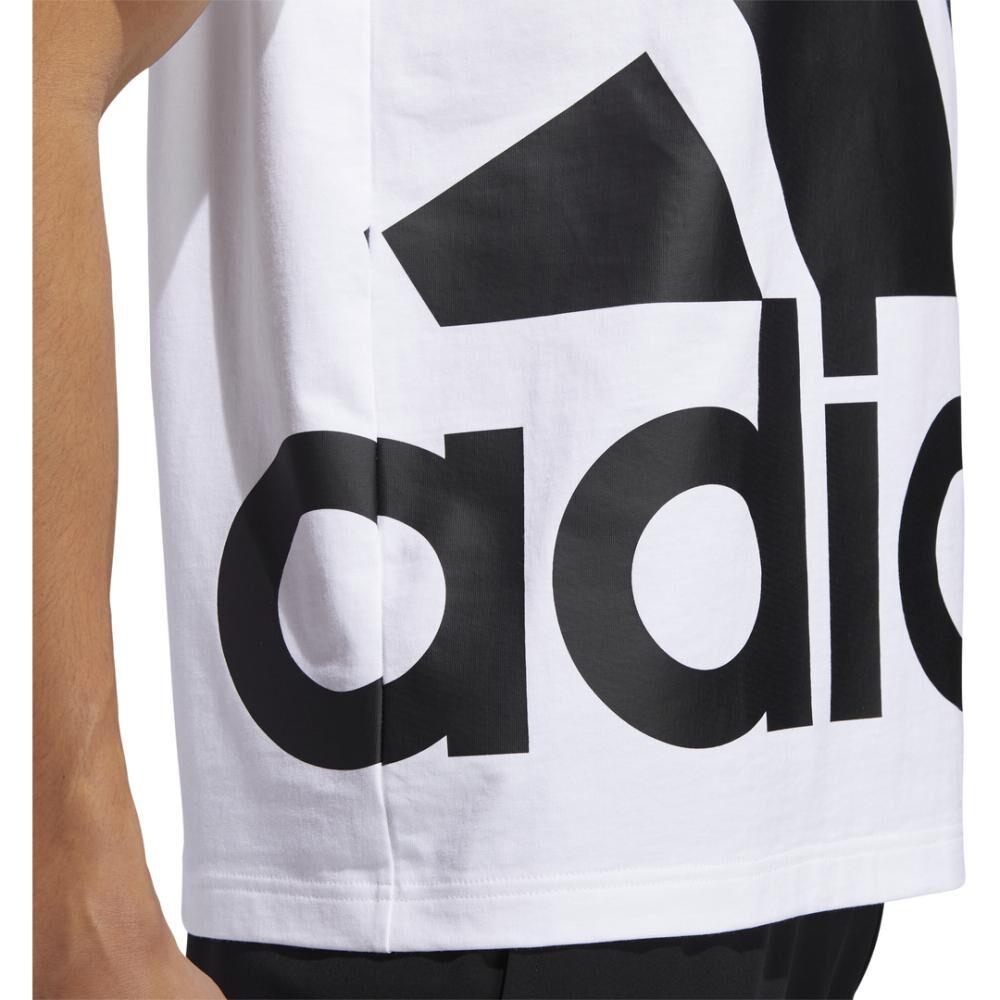Polera Hombre Adidas Logo Grande image number 6.0