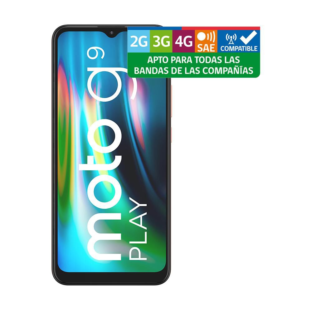 Smartphone Motorola G9 Play Rosa / 64 Gb / Liberado image number 8.0