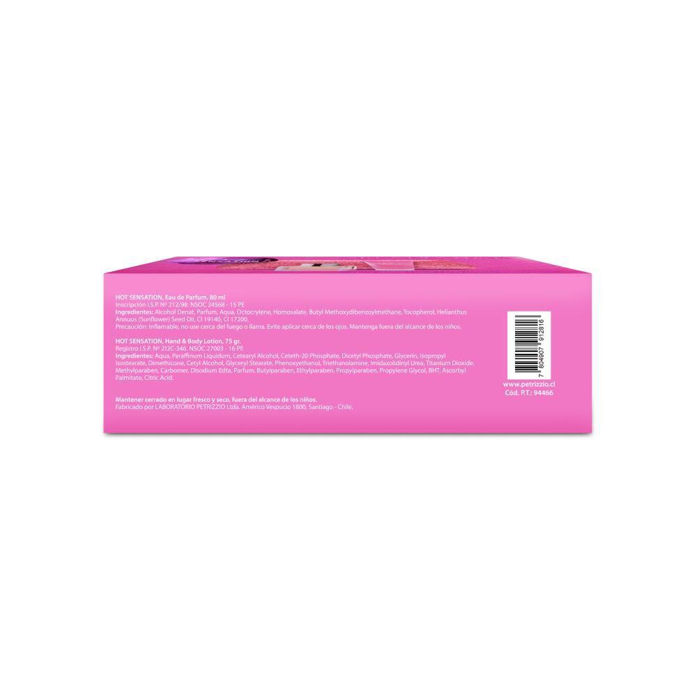 Cosmetiquero + Edp Hot Sensation 80 Ml + Crema Plaisance image number 3.0
