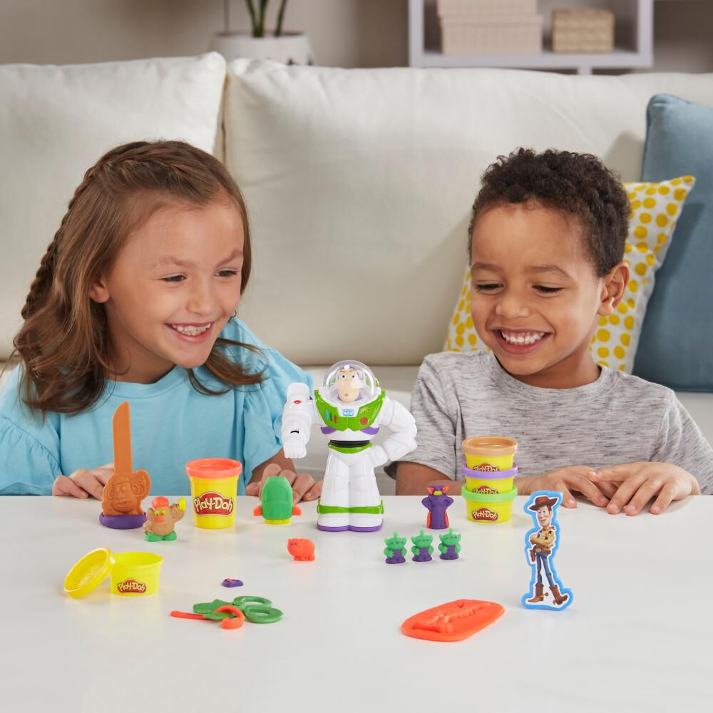 Masas Educativas Play Doh Toy Story Buzz Lightyear image number 2.0