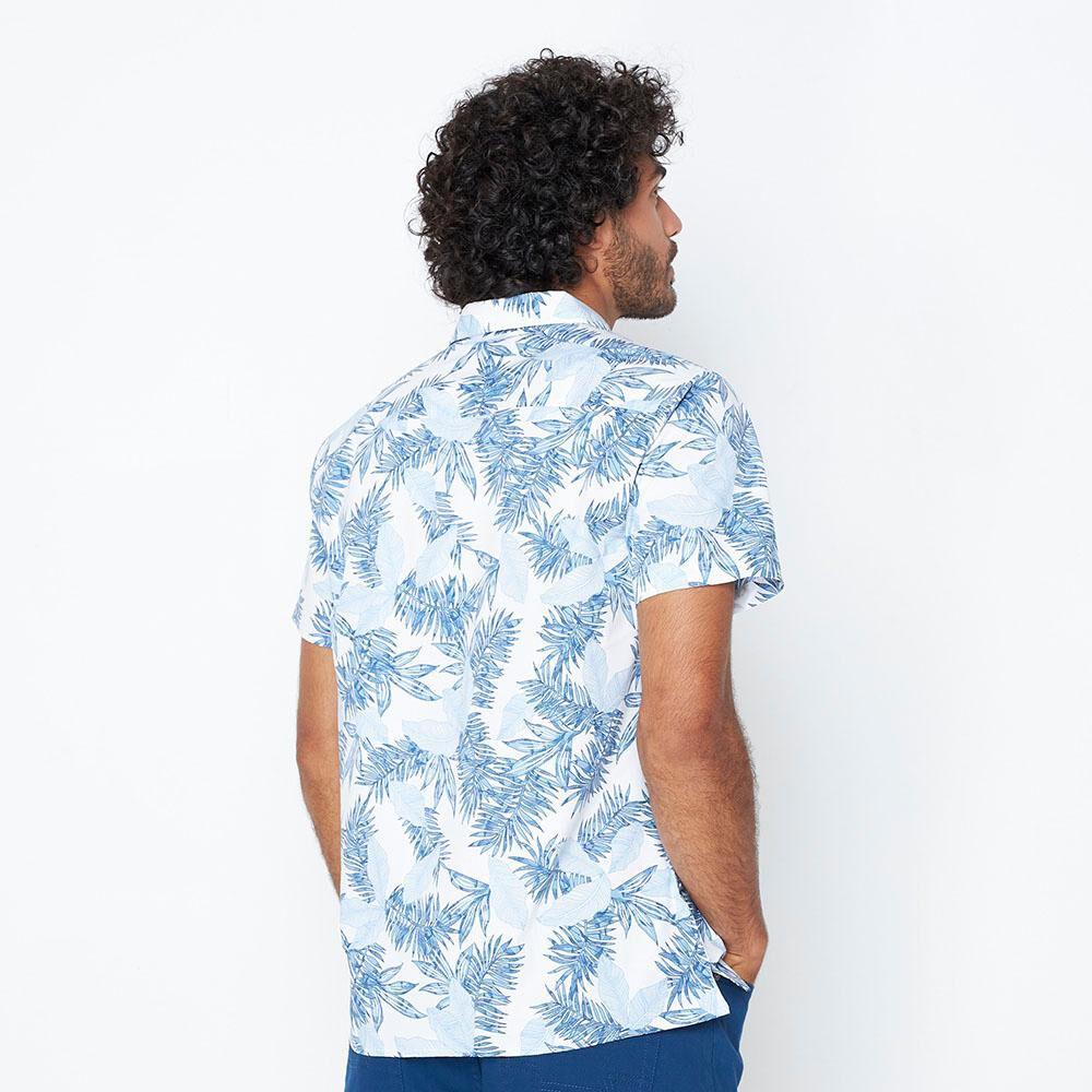 Camisa Hombre Az Black image number 2.0