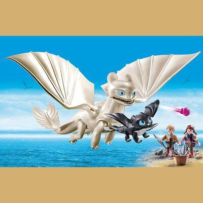 Figura De Acción Playmobil Set De Juego Furia Diurna