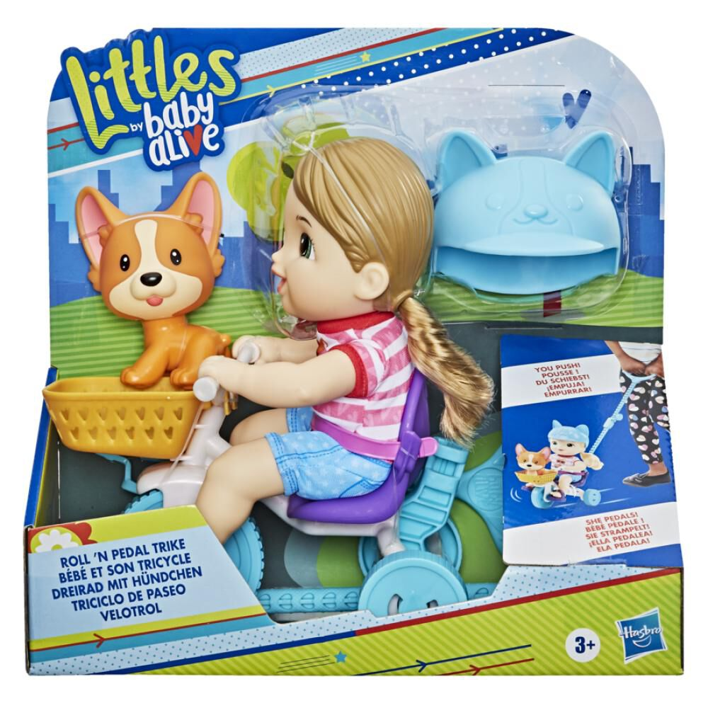 Muñeca Baby Alive Littles Triciclo De Paseo image number 0.0