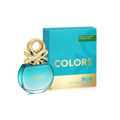 Perfume Benetton Colors Blue Woman Edt / 50 Ml / Edt /